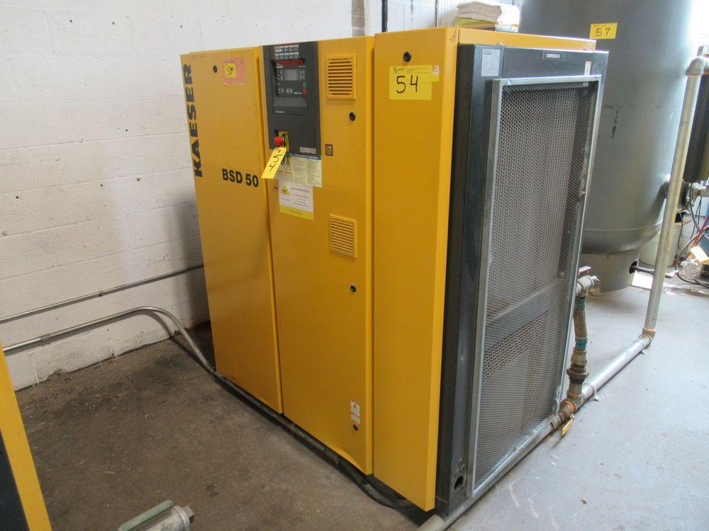 2006 KAESER BSD-50 50HP AIR COMPRESSOR W/ SIGMA CONTROL, S/N 1030