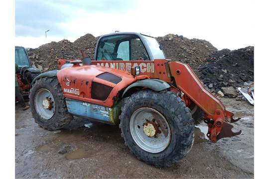 1999 MANITOU MLT 633-120 LS 4wd 4ws TELESCOPIC LOADER Fitted with