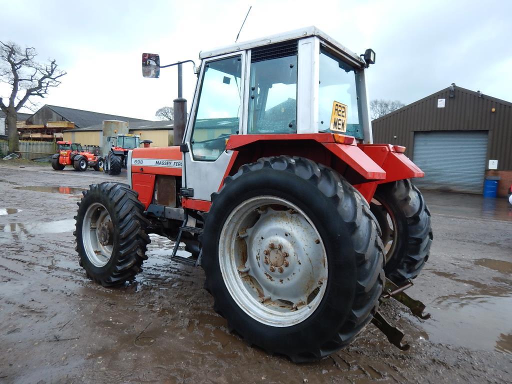 Ferguson Rear Tractor Rims Used : Massey ferguson wd tractor on r rear and