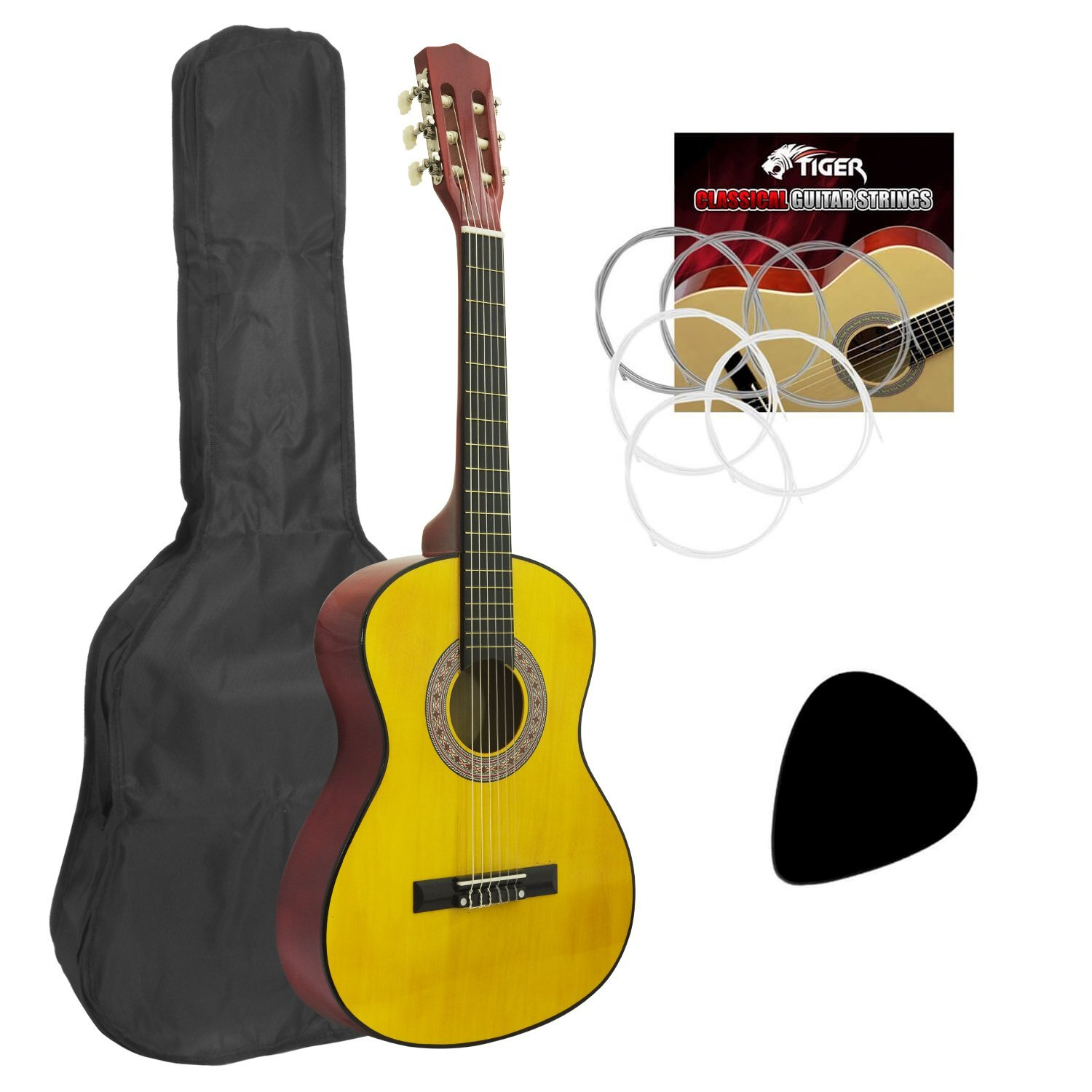 Lot 8 - Childrens Classical Guitar Kids Pack 3/4 Size