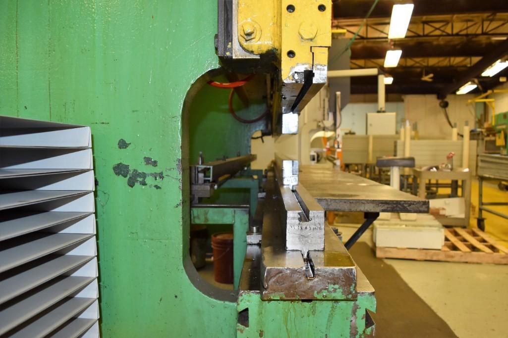 Dreis & Krump 150-Ton x 12' Model 5510-D Mechanical Press Brake S/N: P-9079 - Image 4 of 8
