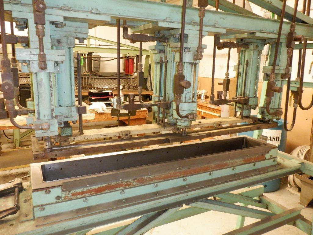4' Custom Built Pneumatic Lume Form Press - Image 6 of 19