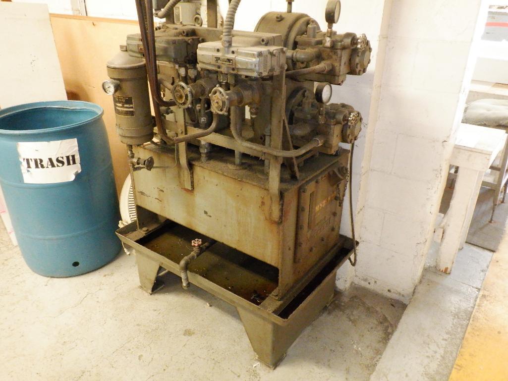 4' Custom Built Pneumatic Lume Form Press - Image 7 of 19