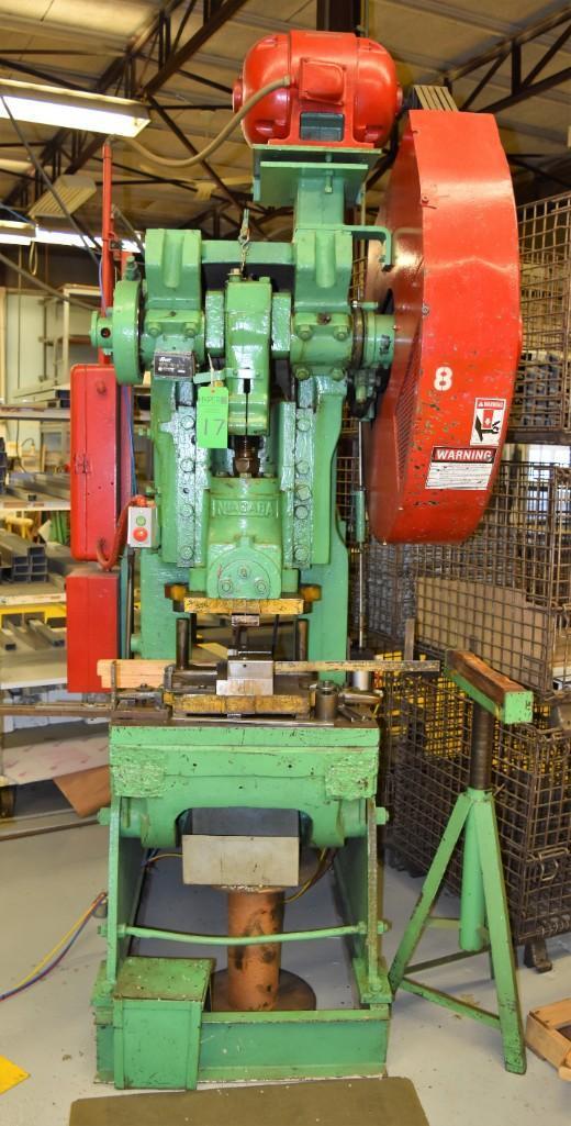 Niagra 43-Ton Model A3-1/2 OBI Press S/N: 32321