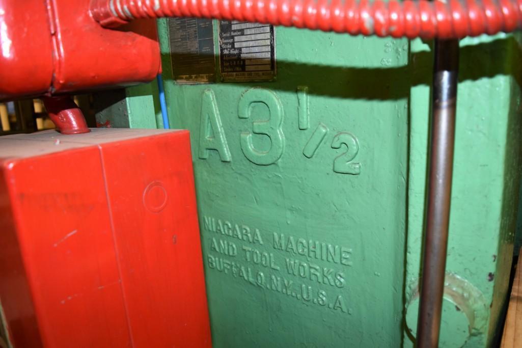 Niagra 43-Ton Model A3-1/2 OBI Press S/N: 32321 - Image 3 of 8