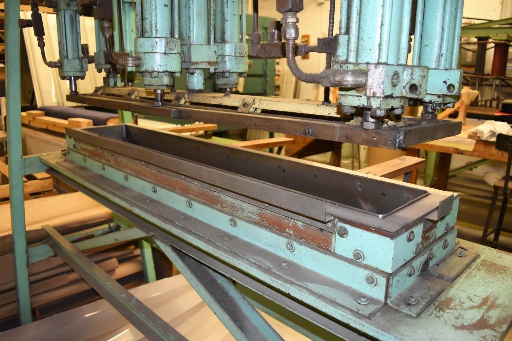 4' Custom Built Pneumatic Lume Form Press - Image 13 of 19