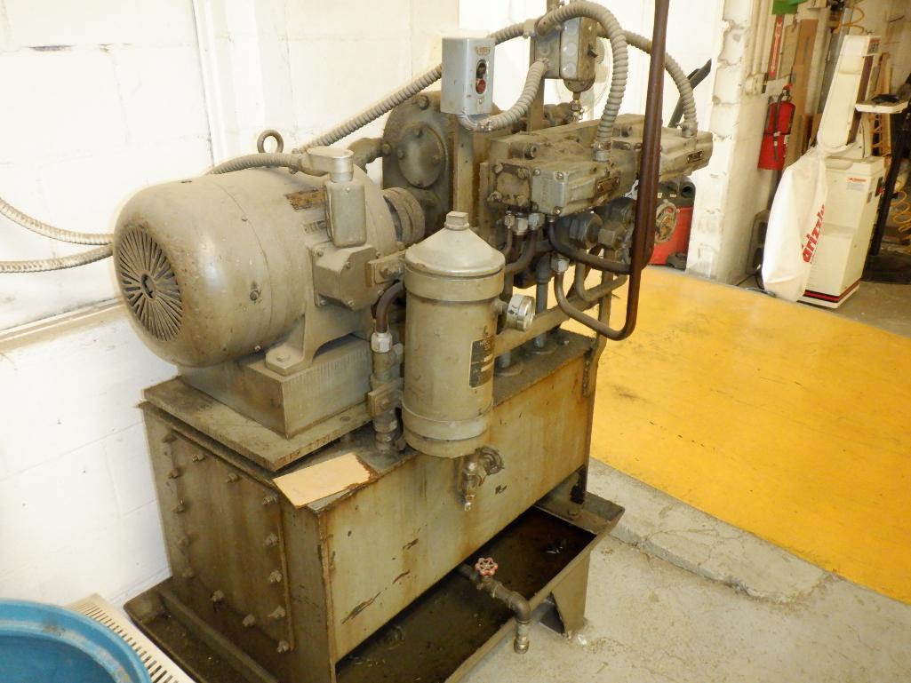 4' Custom Built Pneumatic Lume Form Press - Image 9 of 19