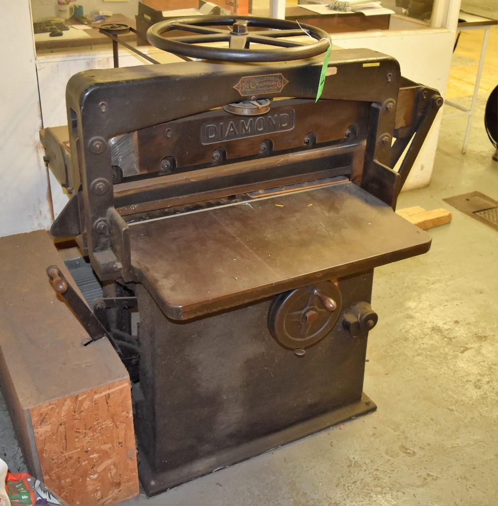 """Challenge 34.5"""" Diamond Paper Cutter, 36"""" (est.) Manual Back Gauge - Image 7 of 12"""