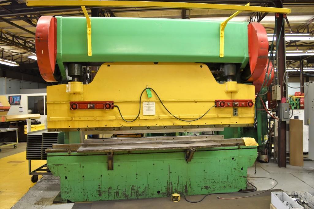 Dreis & Krump 150-Ton x 12' Model 5510-D Mechanical Press Brake S/N: P-9079 - Image 3 of 8