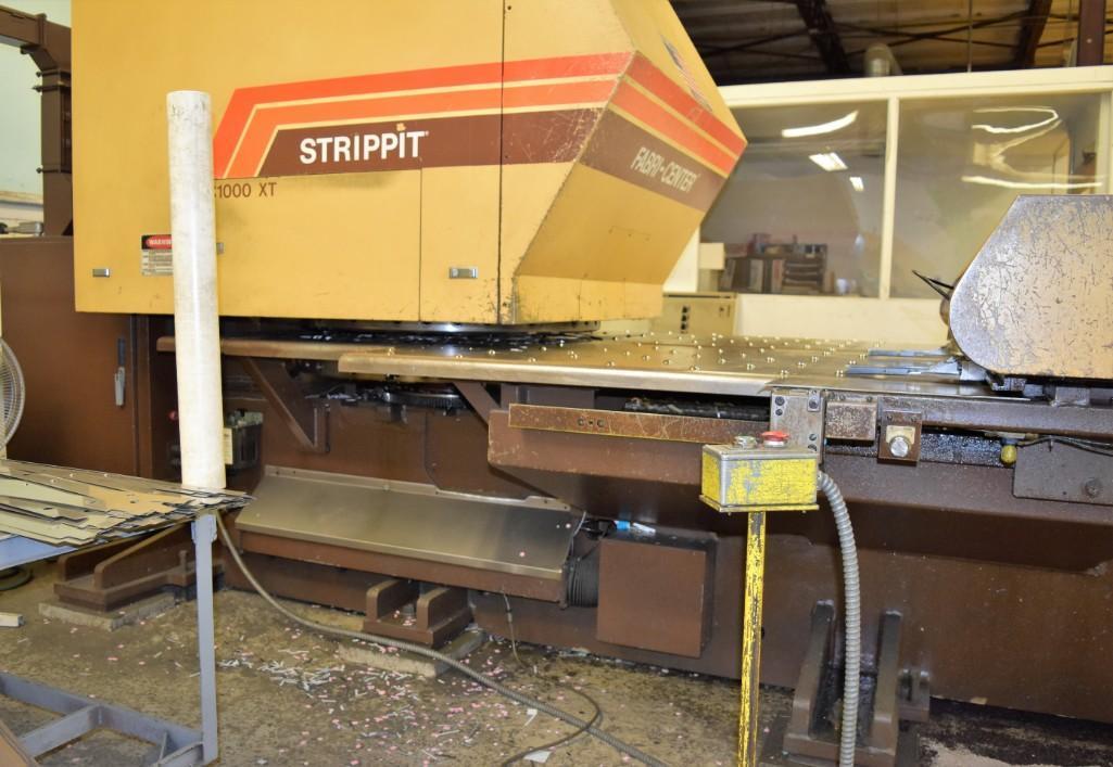 Strippit 30-Ton Model FC-1000XT CNC Turret Punch S/N: 9-037113088C - Image 8 of 12