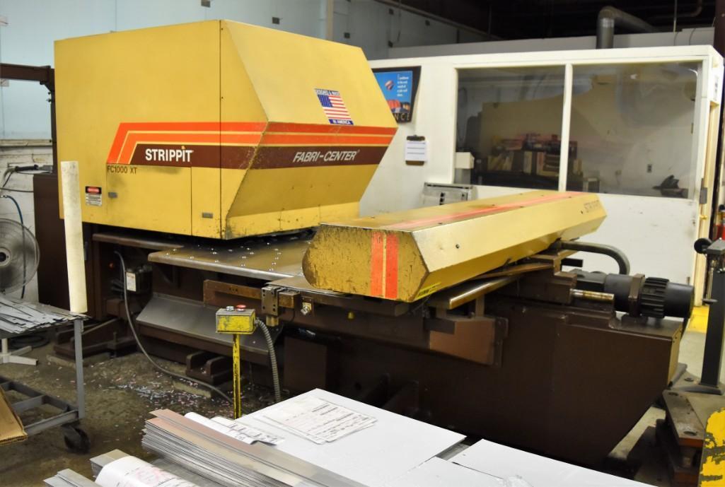 Strippit 30-Ton Model FC-1000XT CNC Turret Punch S/N: 9-037113088C - Image 7 of 12