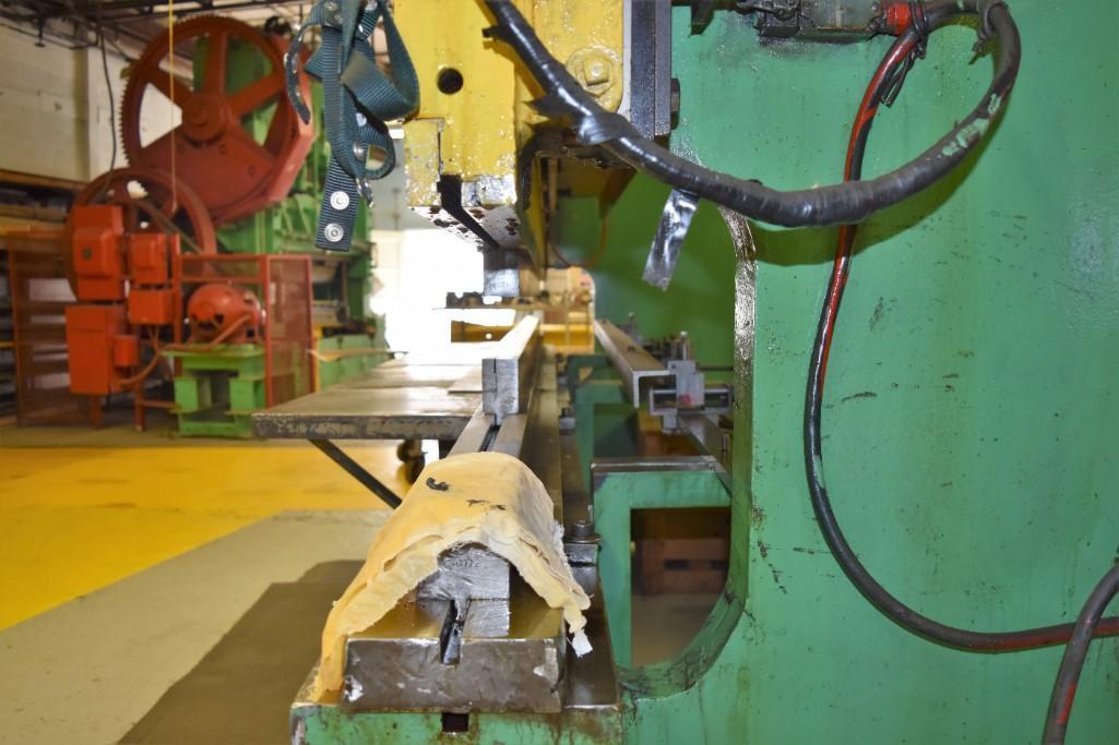 Dreis & Krump 150-Ton x 12' Model 5510-D Mechanical Press Brake S/N: P-9079 - Image 8 of 8