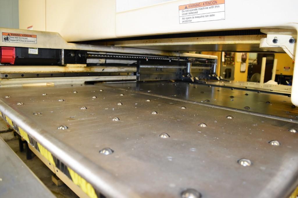 Strippit 20-Ton LVD U1000XP20 CNC Turret Punch S/N: 030102893 - Image 8 of 11