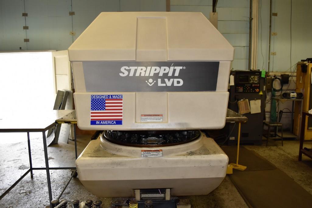 Strippit 20-Ton LVD U1000XP20 CNC Turret Punch S/N: 030102893 - Image 5 of 11