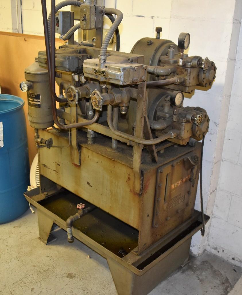 4' Custom Built Pneumatic Lume Form Press - Image 15 of 19