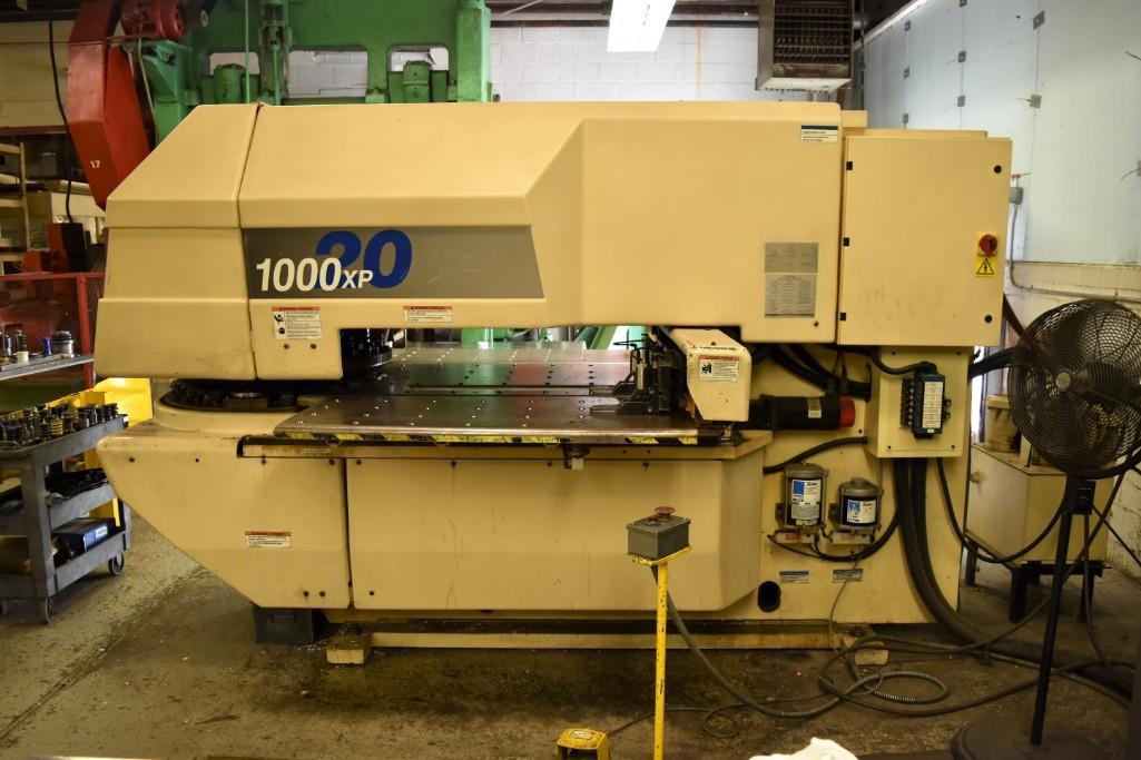 Strippit 20-Ton LVD U1000XP20 CNC Turret Punch S/N: 030102893 - Image 2 of 11