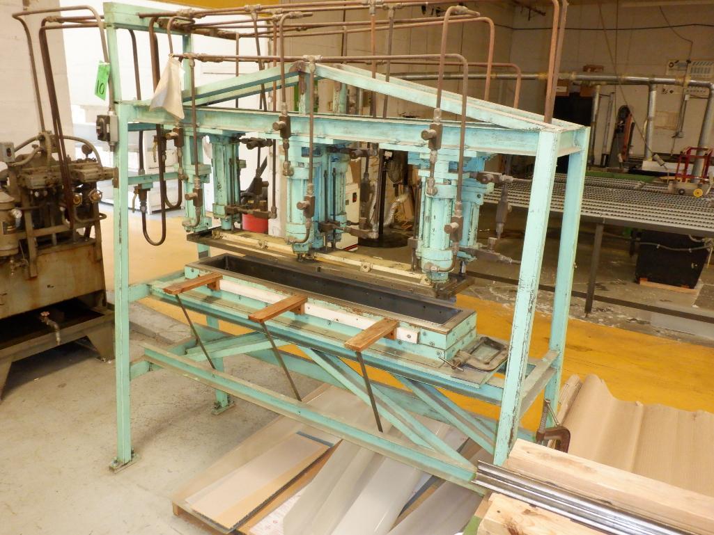 4' Custom Built Pneumatic Lume Form Press - Image 4 of 19