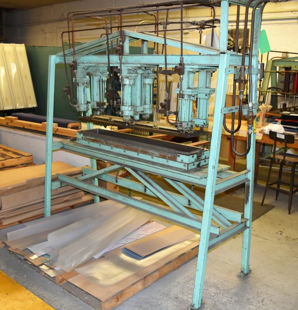 4' Custom Built Pneumatic Lume Form Press - Image 12 of 19