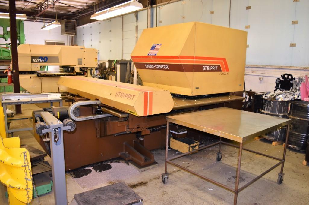 Strippit 30-Ton Model FC-1000XT CNC Turret Punch S/N: 9-037113088C - Image 3 of 12