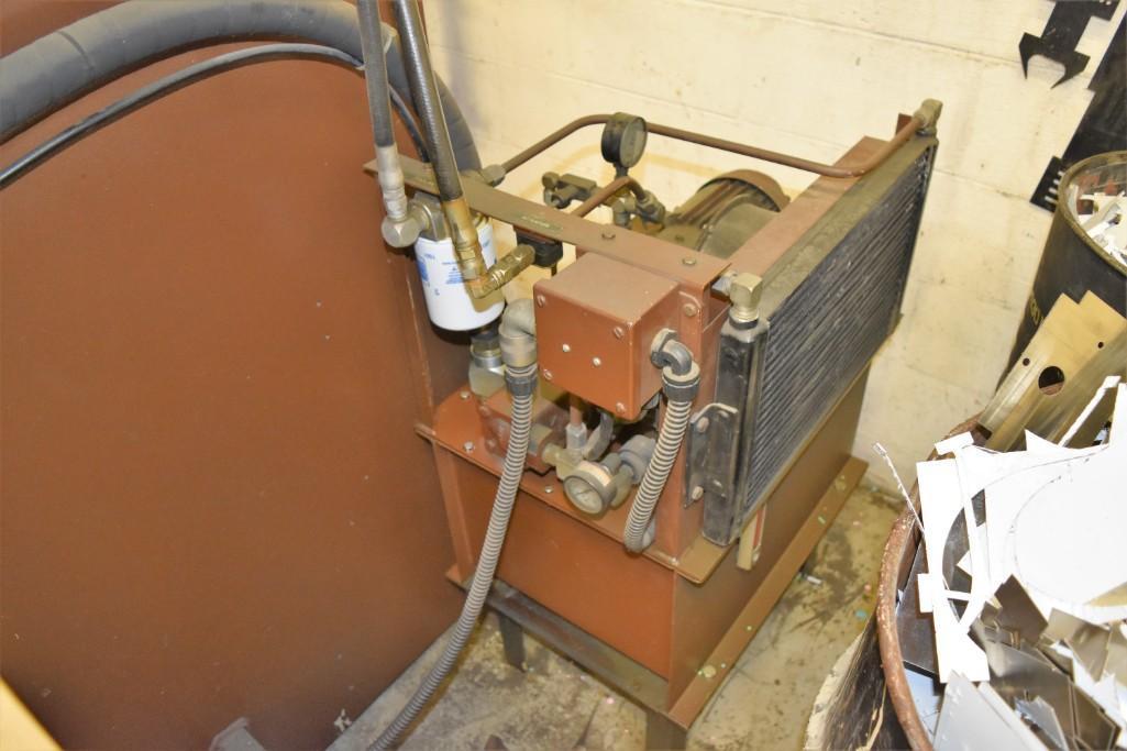 Strippit 30-Ton Model FC-1000XT CNC Turret Punch S/N: 9-037113088C - Image 6 of 12