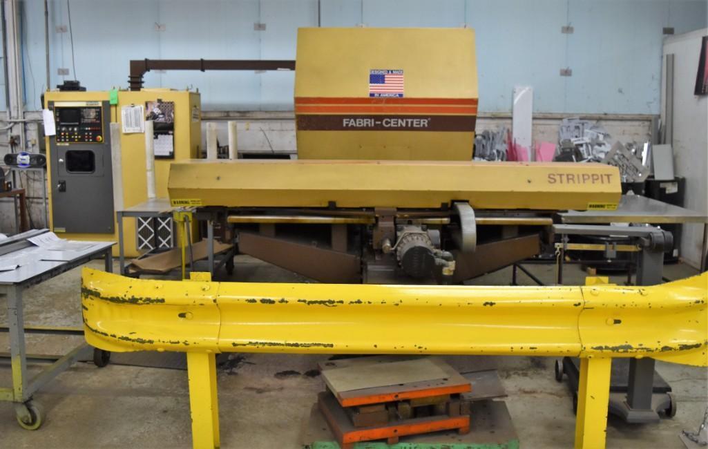 Strippit 30-Ton Model FC-1000XT CNC Turret Punch S/N: 9-037113088C - Image 2 of 12