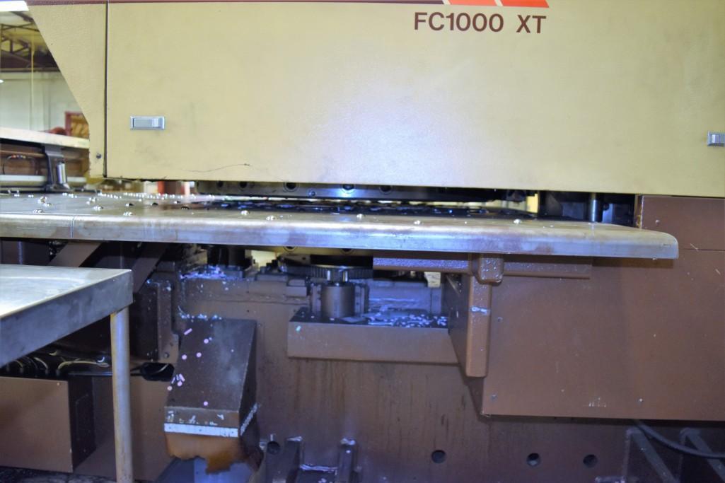 Strippit 30-Ton Model FC-1000XT CNC Turret Punch S/N: 9-037113088C - Image 5 of 12