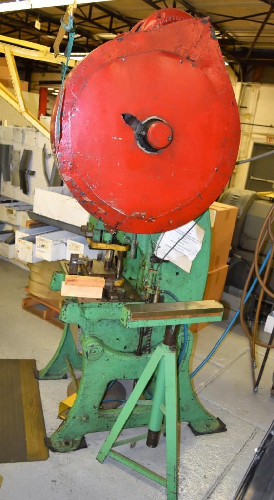 Bliss 30-Ton Consolidated 4 OBI Press S/N: H4088 - Image 5 of 5