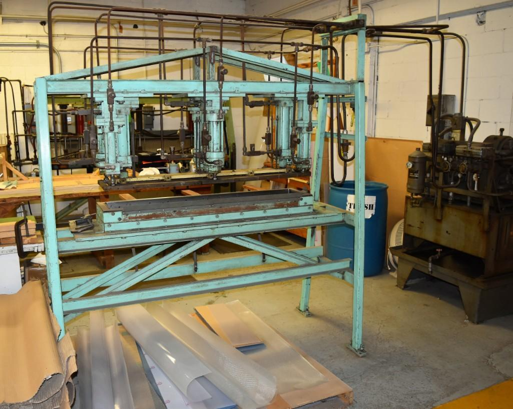 4' Custom Built Pneumatic Lume Form Press - Image 11 of 19