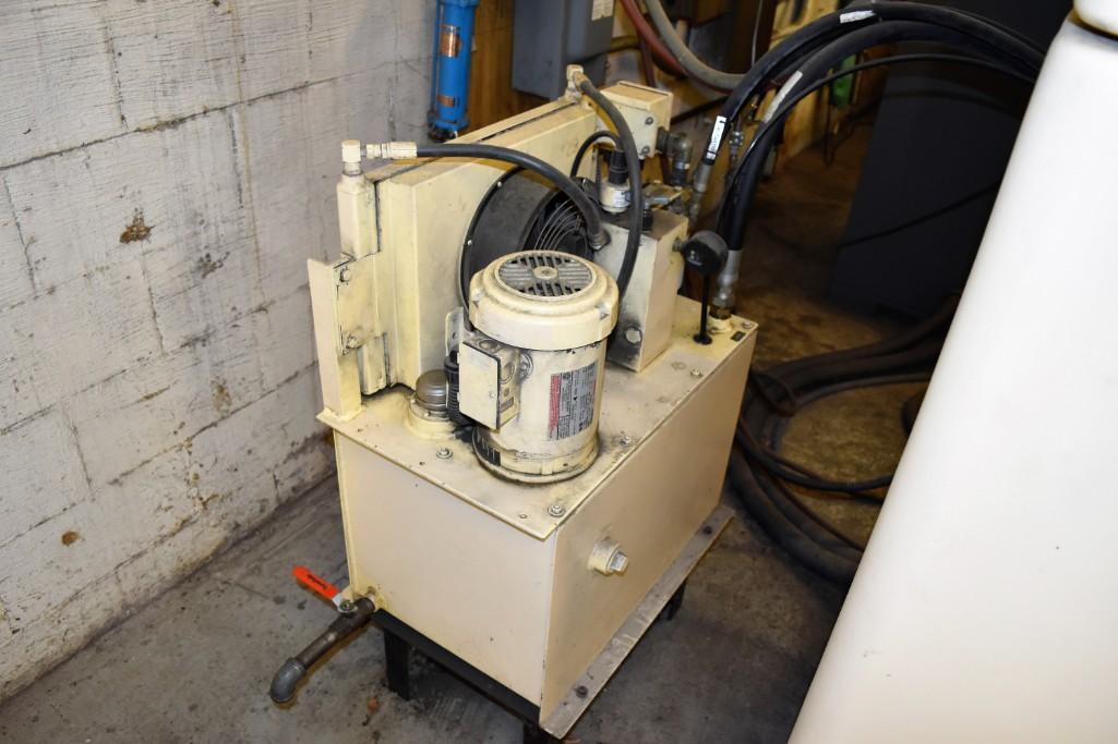 Strippit 20-Ton LVD U1000XP20 CNC Turret Punch S/N: 030102893 - Image 9 of 11