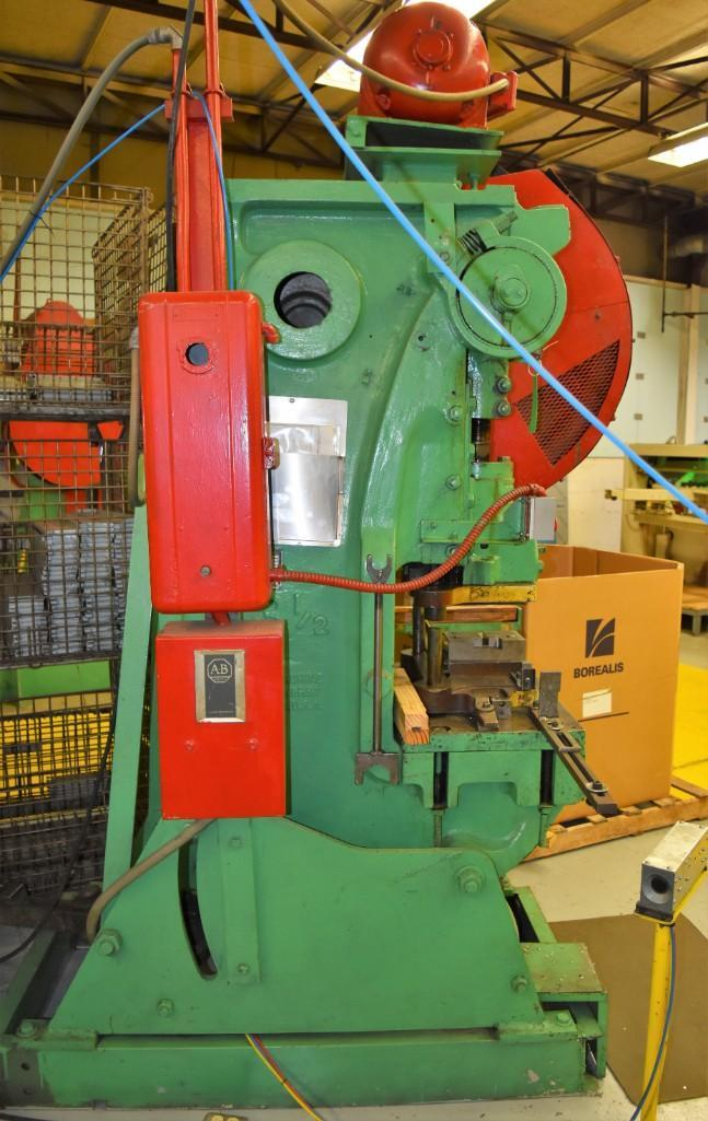 Niagra 43-Ton Model A3-1/2 OBI Press S/N: 32321 - Image 2 of 8