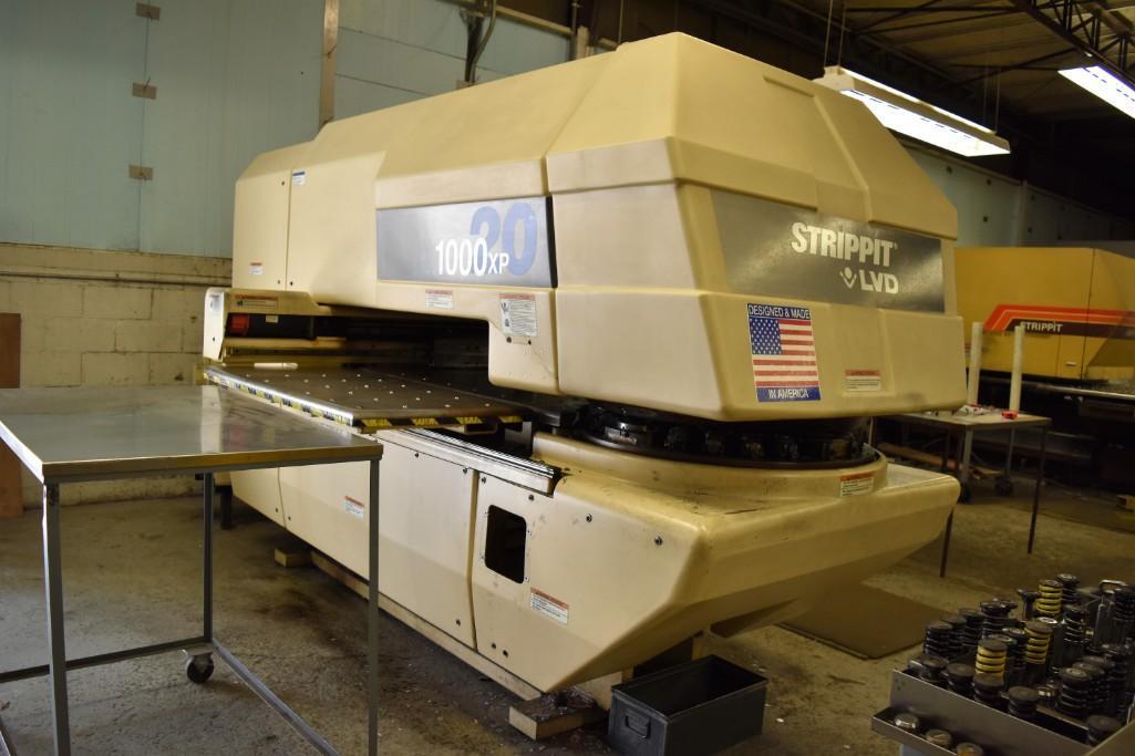 Strippit 20-Ton LVD U1000XP20 CNC Turret Punch S/N: 030102893 - Image 6 of 11