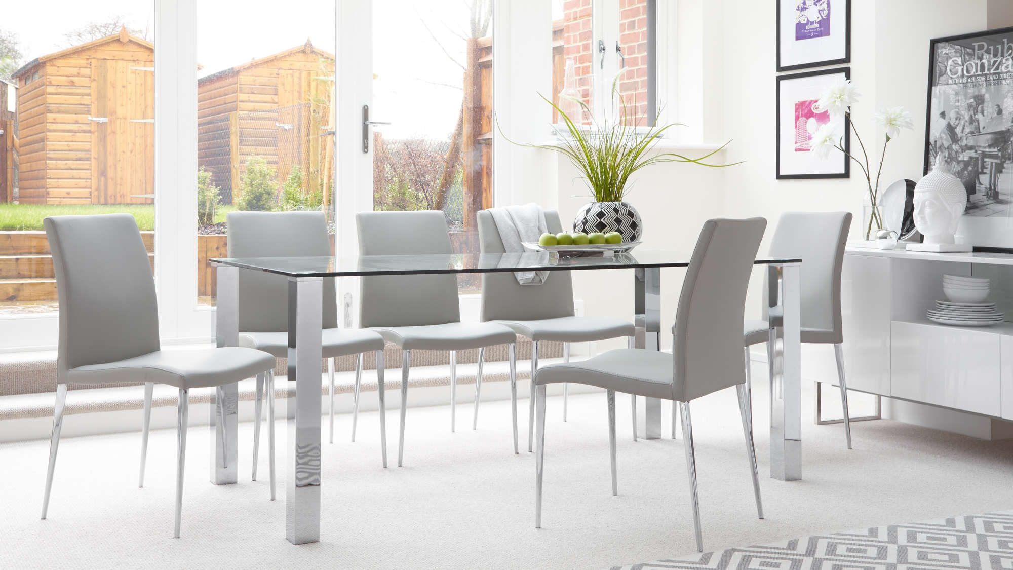 6 x Elise Dining Chair The depth from the front of the ...