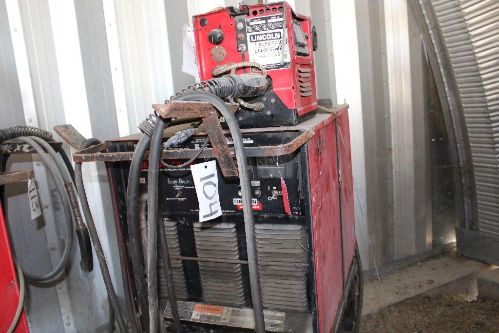 Lincoln welder model CV-400, sn U1930812939. - Image 2 of 2