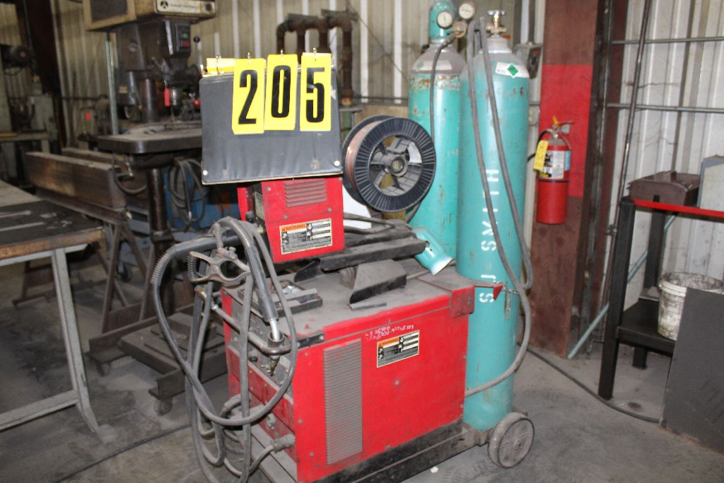 Lincoln welder CV300, sn U5980402048.