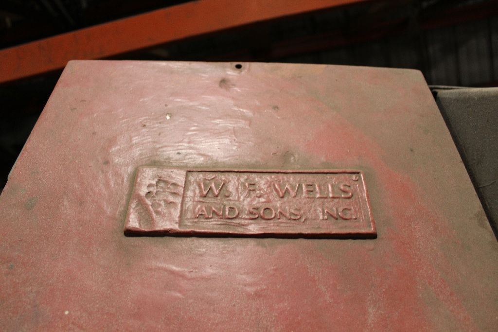 Wells horz. Bandsaw, model L-9, sn 75339. - Image 3 of 3