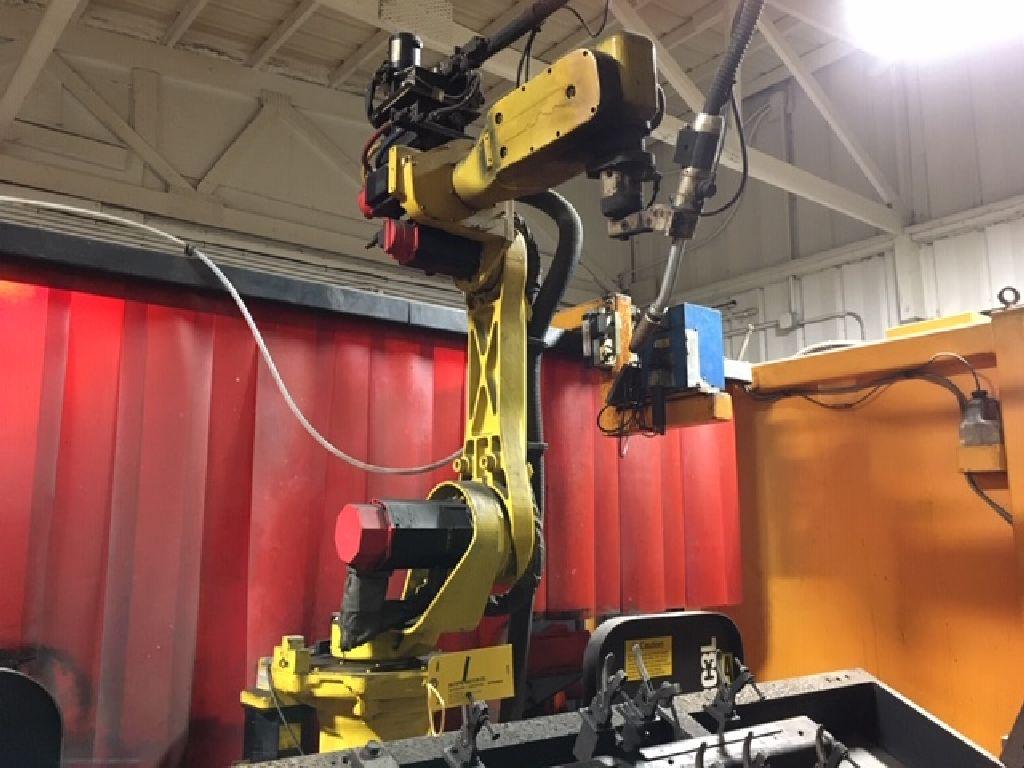Wire welding Robot Genesis Versa RC3L, sn U1951012056, Fanuc Arc mate 100, Fanuc Sustem R-J2 - Image 2 of 32