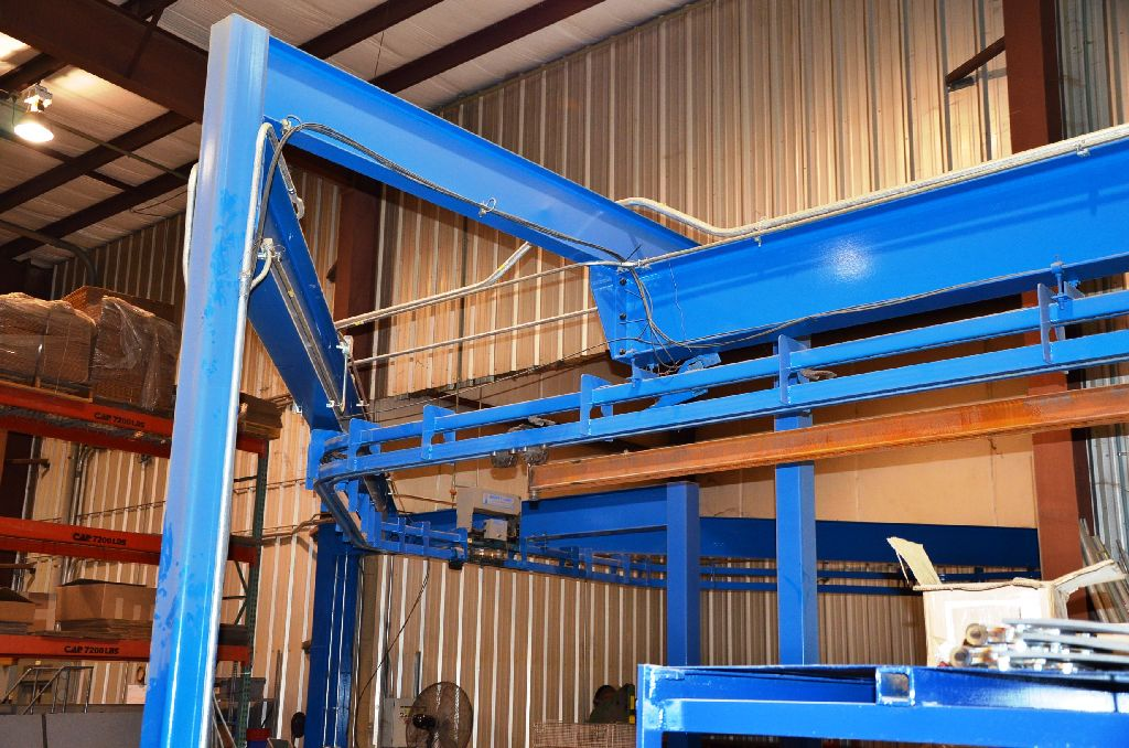 Conveyor System – Wash/Dry/Powder Line: Conveyor Model: Webb-Unibuilt Webballoy II 20200; 30 FPM - Image 5 of 8