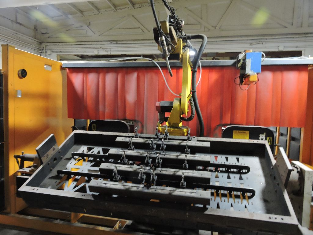 Wire welding Robot Genesis Versa RC3L, sn U1951012056, Fanuc Arc mate 100, Fanuc Sustem R-J2 - Image 24 of 32