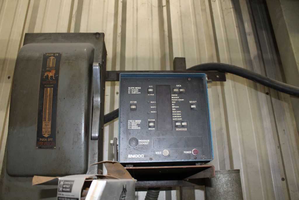 Thomson spot welder, model G-12, sn 15516, water cooled, updated controls. - Image 3 of 8