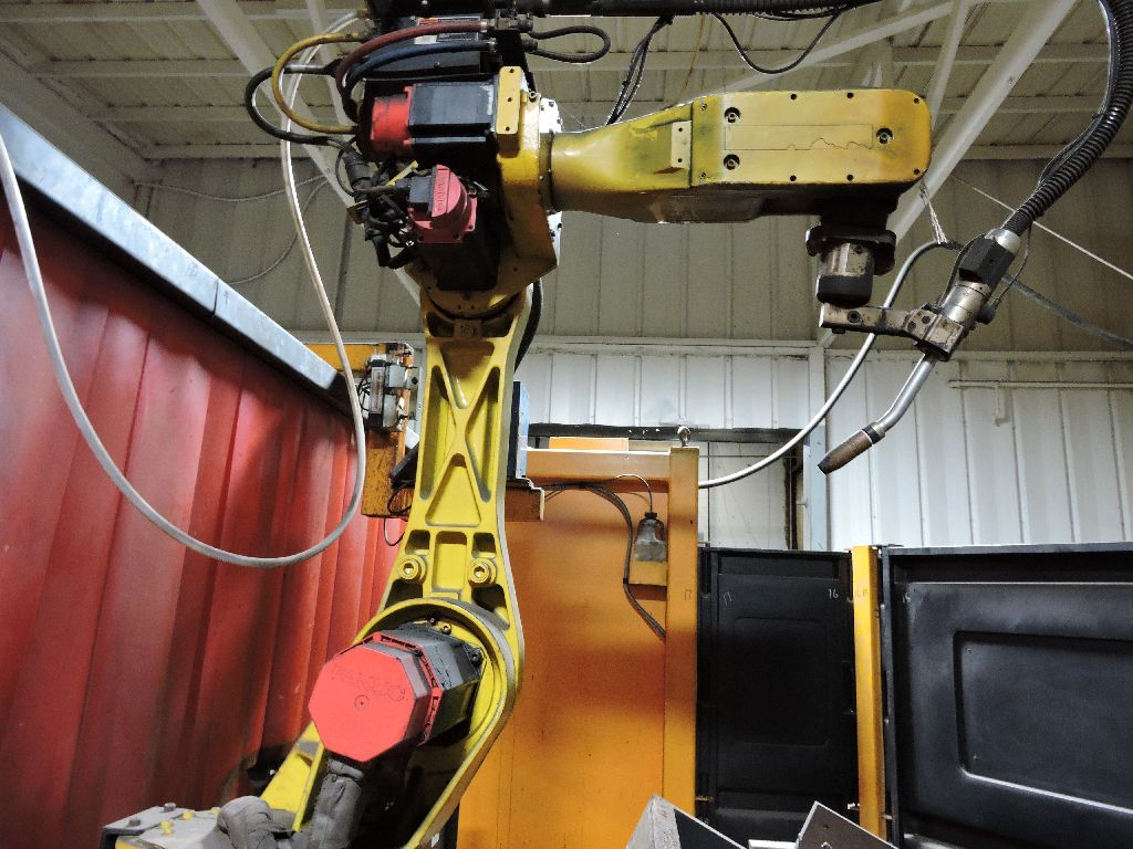 Wire welding Robot Genesis Versa RC3L, sn U1951012056, Fanuc Arc mate 100, Fanuc Sustem R-J2 - Image 3 of 32