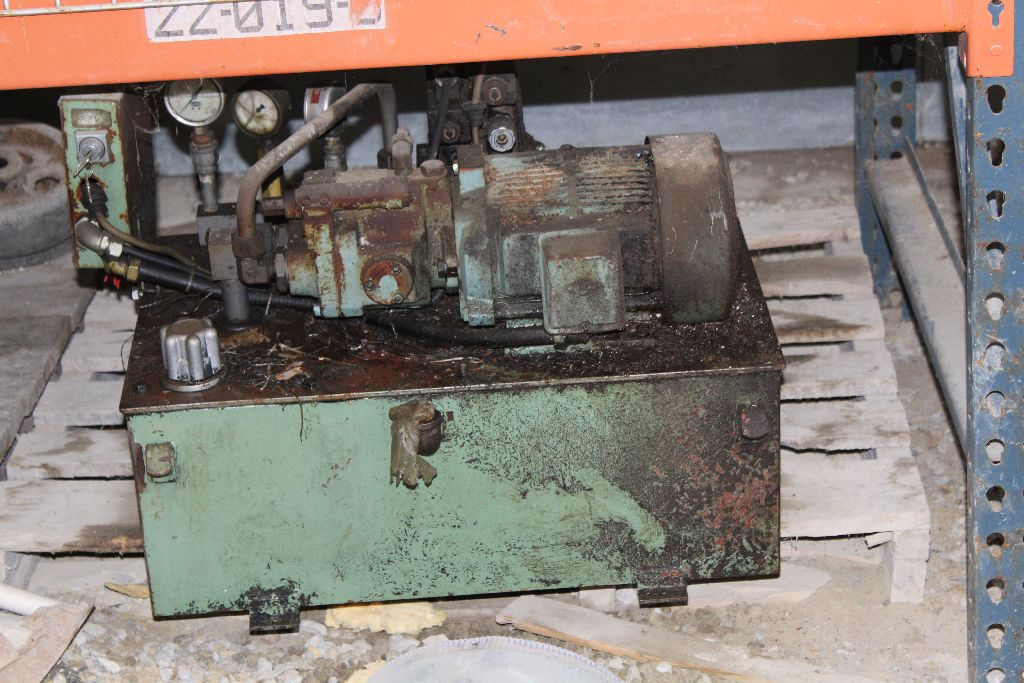 Hydraulic power unit, green. - Image 2 of 2