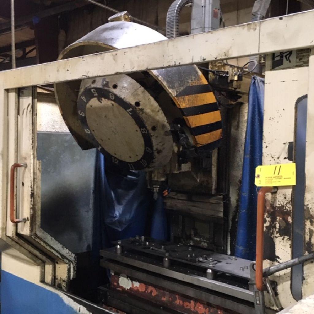 Amera Seiki CNC machining center, model DRM-80, sn W970243, date 1997-06.