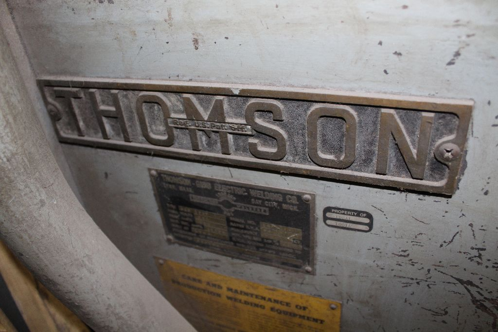 Thomson spot welder, model G-12, sn 15516, water cooled, updated controls. - Image 4 of 8