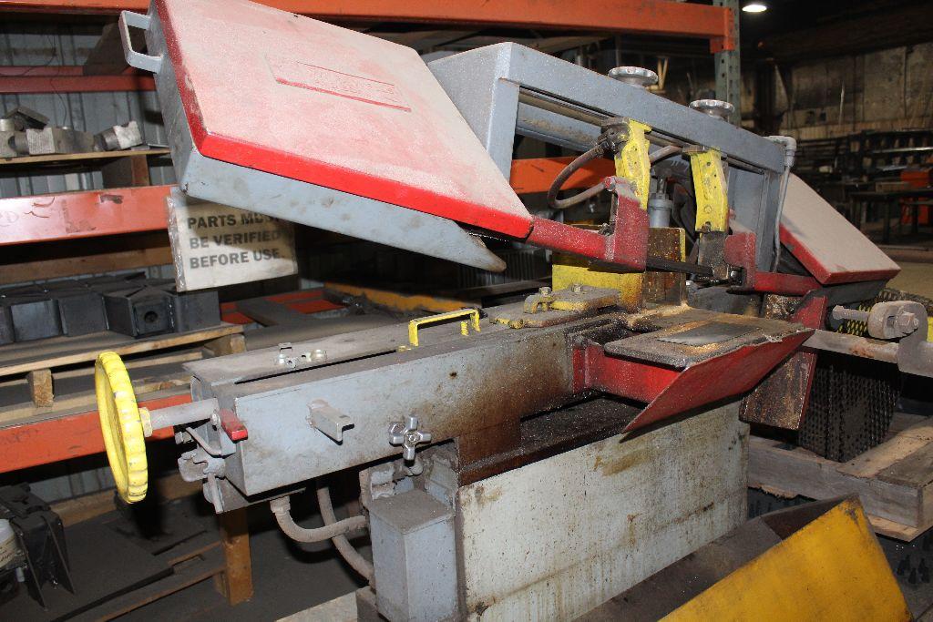 Wells horz. Bandsaw, model L-9, sn 75339. - Image 2 of 3