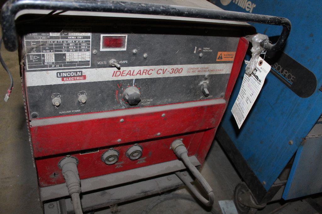 Lincoln welder, Ideal ARC-CV300, sn 1940324958. - Image 2 of 4