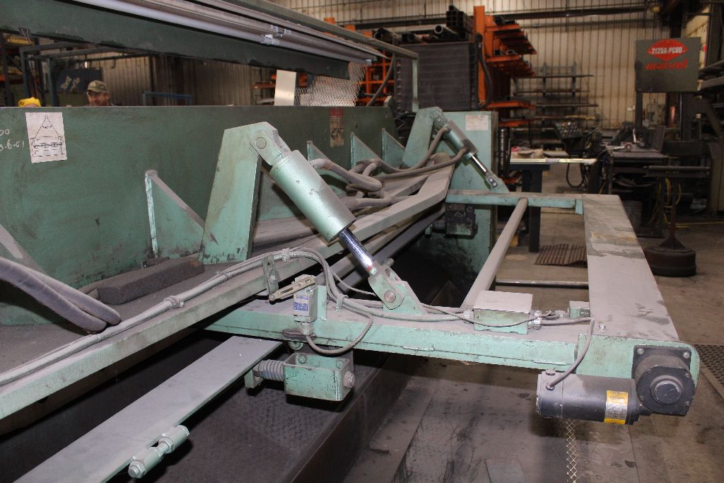 Betenbender shear 1/4-12, model 84, sn 129096, back gauge, std. front control, front control. - Image 5 of 11
