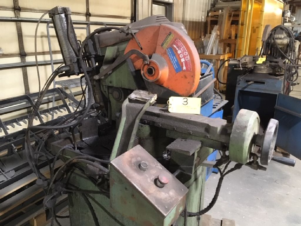 Brown Master 350 cut off saw.