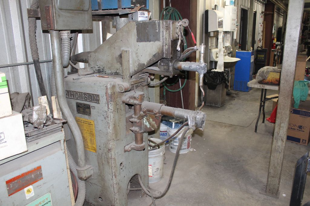 Thomson spot welder, model G-12, sn 15516, water cooled, updated controls. - Image 5 of 8