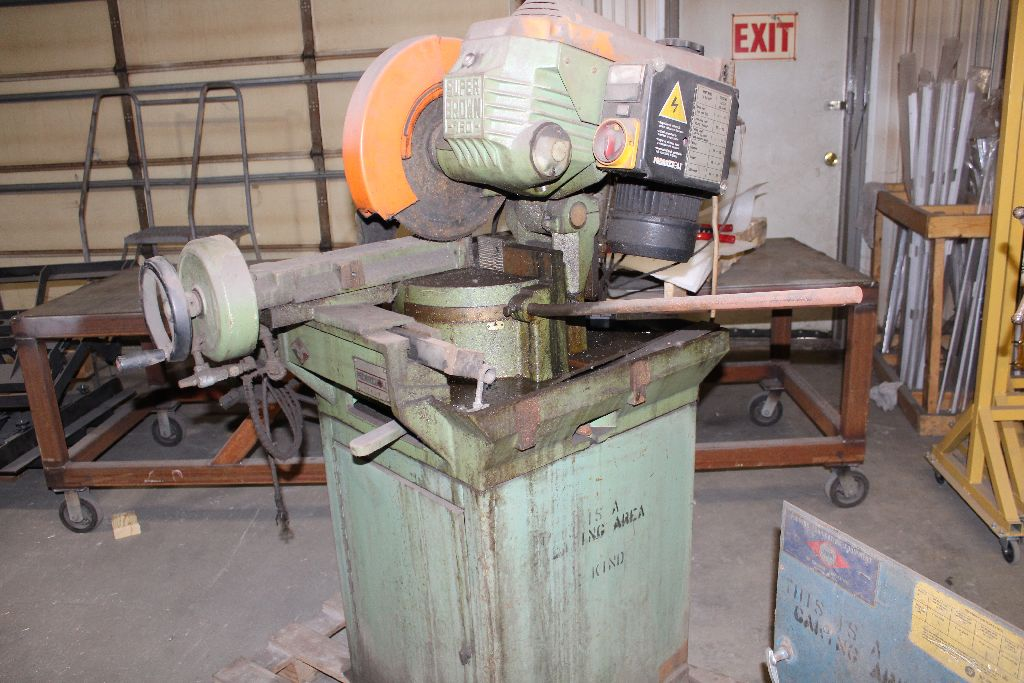 Brown Master 350 cut off saw. - Image 2 of 2