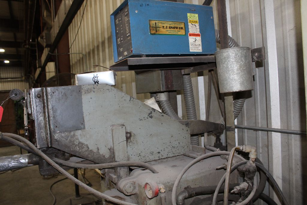 Thomson spot welder, model G-12, sn 15516, water cooled, updated controls. - Image 2 of 8